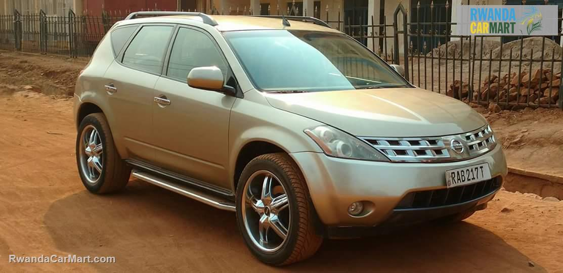 used nissan suv 2005 nissan murano 2005 rwanda carmart. Black Bedroom Furniture Sets. Home Design Ideas