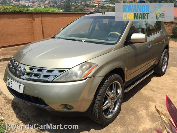 used nissan suv 2005 2005 nissan murano rwanda carmart. Black Bedroom Furniture Sets. Home Design Ideas