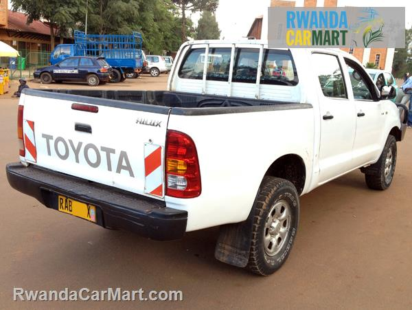 Toyota Diesel Truck >> Used Toyota Truck 2011 2011 Toyota Hilux Double Cabin D4D ...