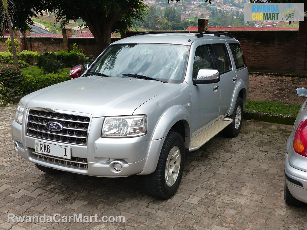 used ford suv 2007 2007 ford everest rwanda carmart. Black Bedroom Furniture Sets. Home Design Ideas